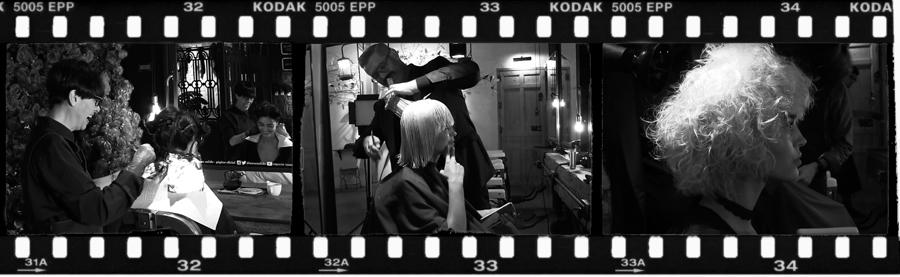 creatividad en la peluquería de Madrid centro, cortes y color de pelo en el Espacio Isaac Salido ... inspiración, belleza, moda y diseño, cecilia