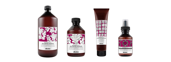 Realizamos este tratamiento Davines Natural Tech enriquecido con ácido hilalurónico capaz de garantizar una potente hidratación y protección al cabello seco
