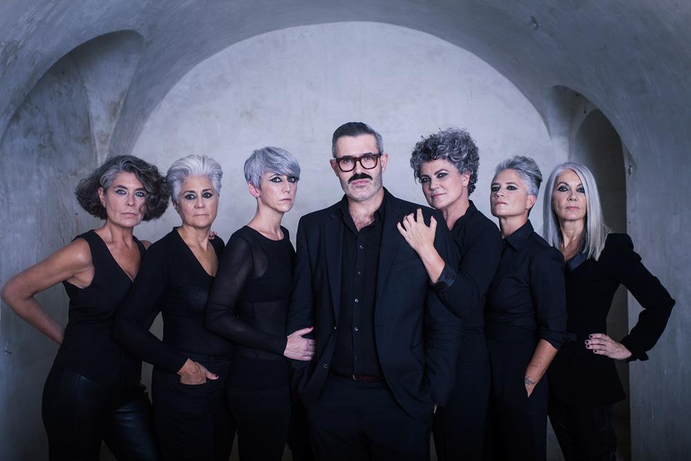 producción por el peluquero isaac salido sobre seis mujeres con cana en madrid