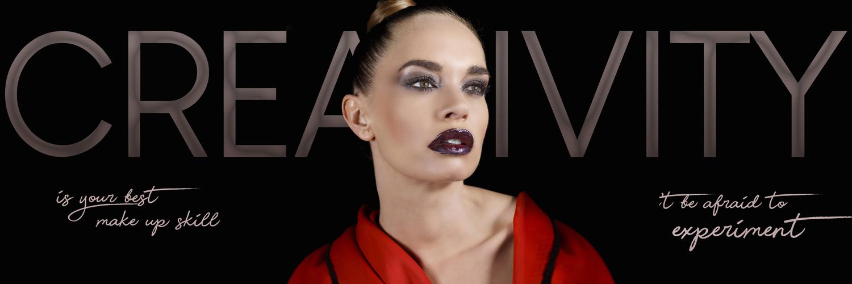 maquillaje fantasía por isaac salido con la modelo elena cimarro, inspirado en pat mcgrath