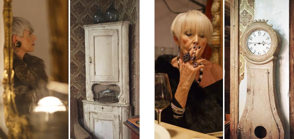 los muebles de il tavolo verde cobran vida en extraños personajes
